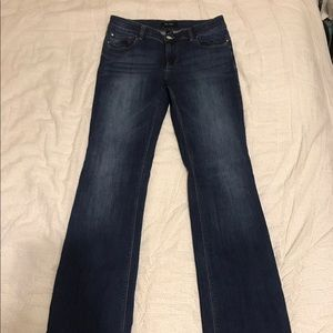 LOT OF TWO bootcut White House Black Market jeans